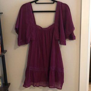 Tobi purple/pink tunic top